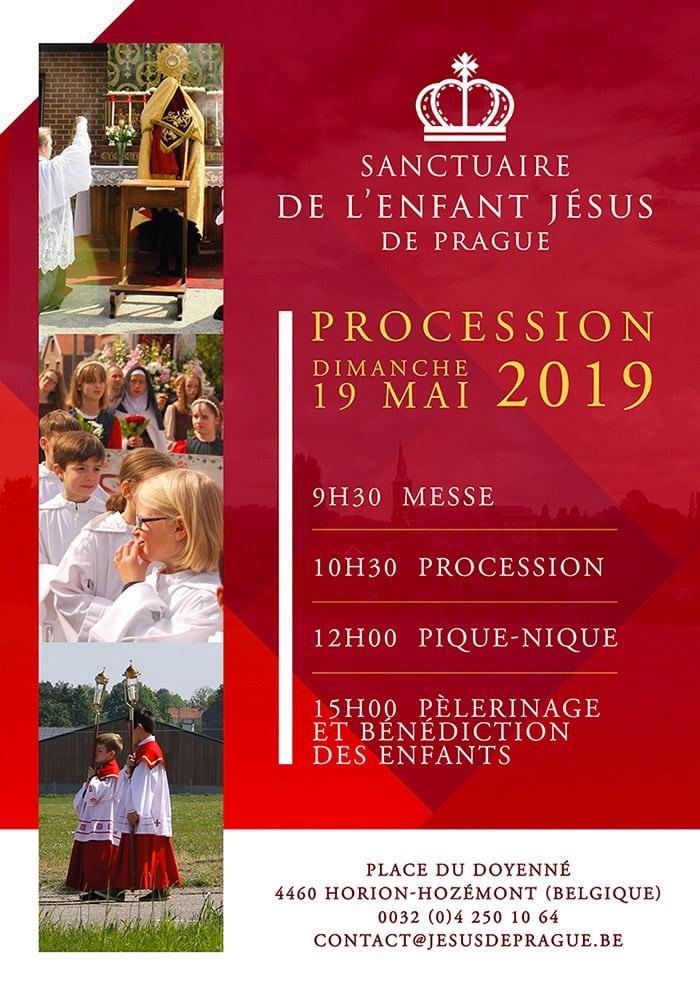 Affiche de la Procession 2019